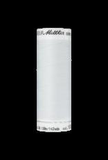Mettler Seraflex elastisch naaigaren ivoor 1000