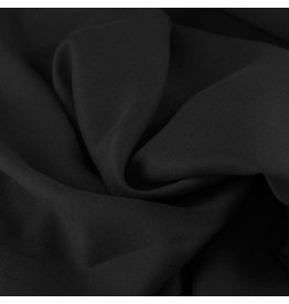 Stik-Stof Tencel twill zwart