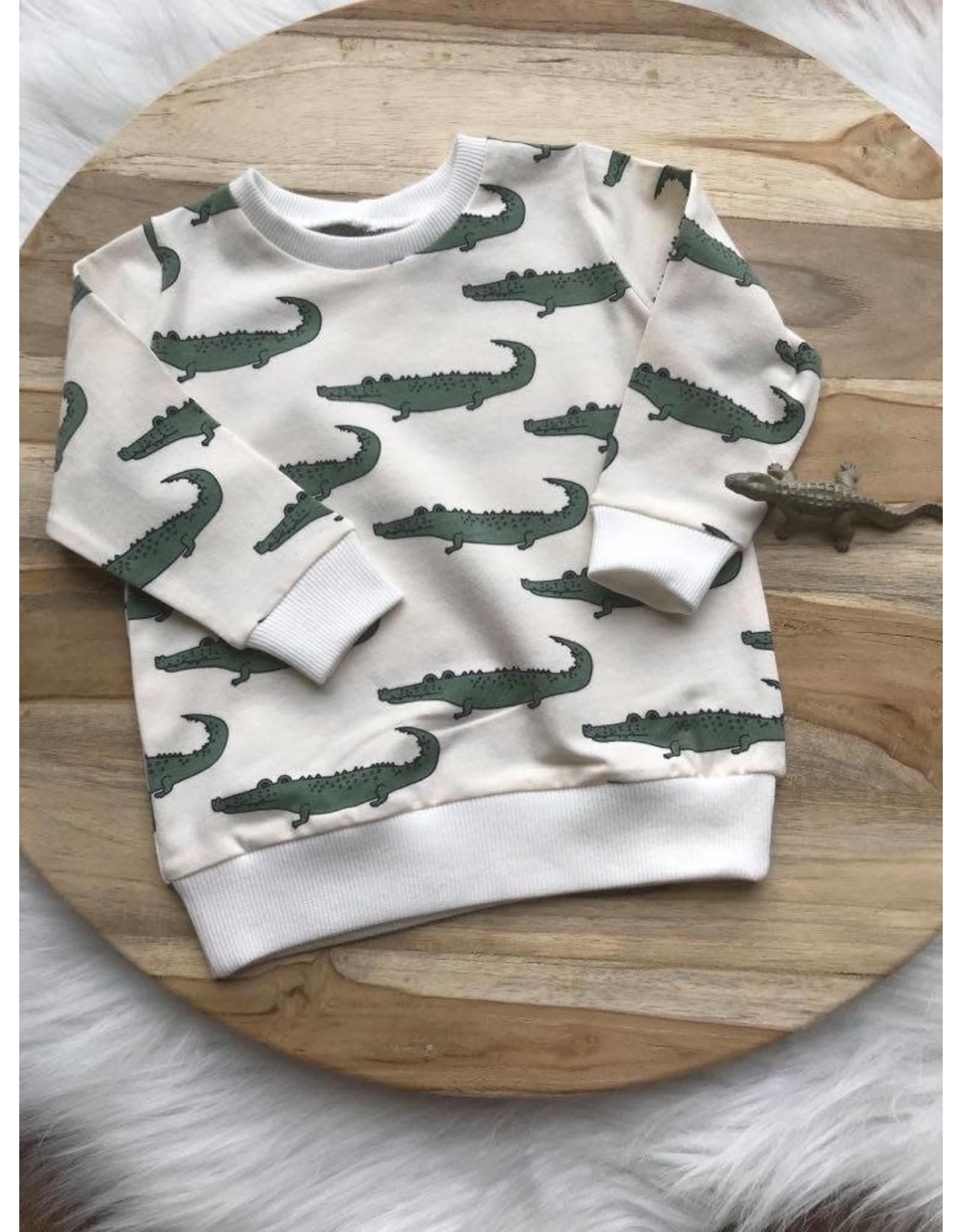 Sweater krokodil
