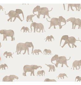 Family fabrics Elepants