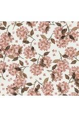 Family fabrics Hortensia rosy