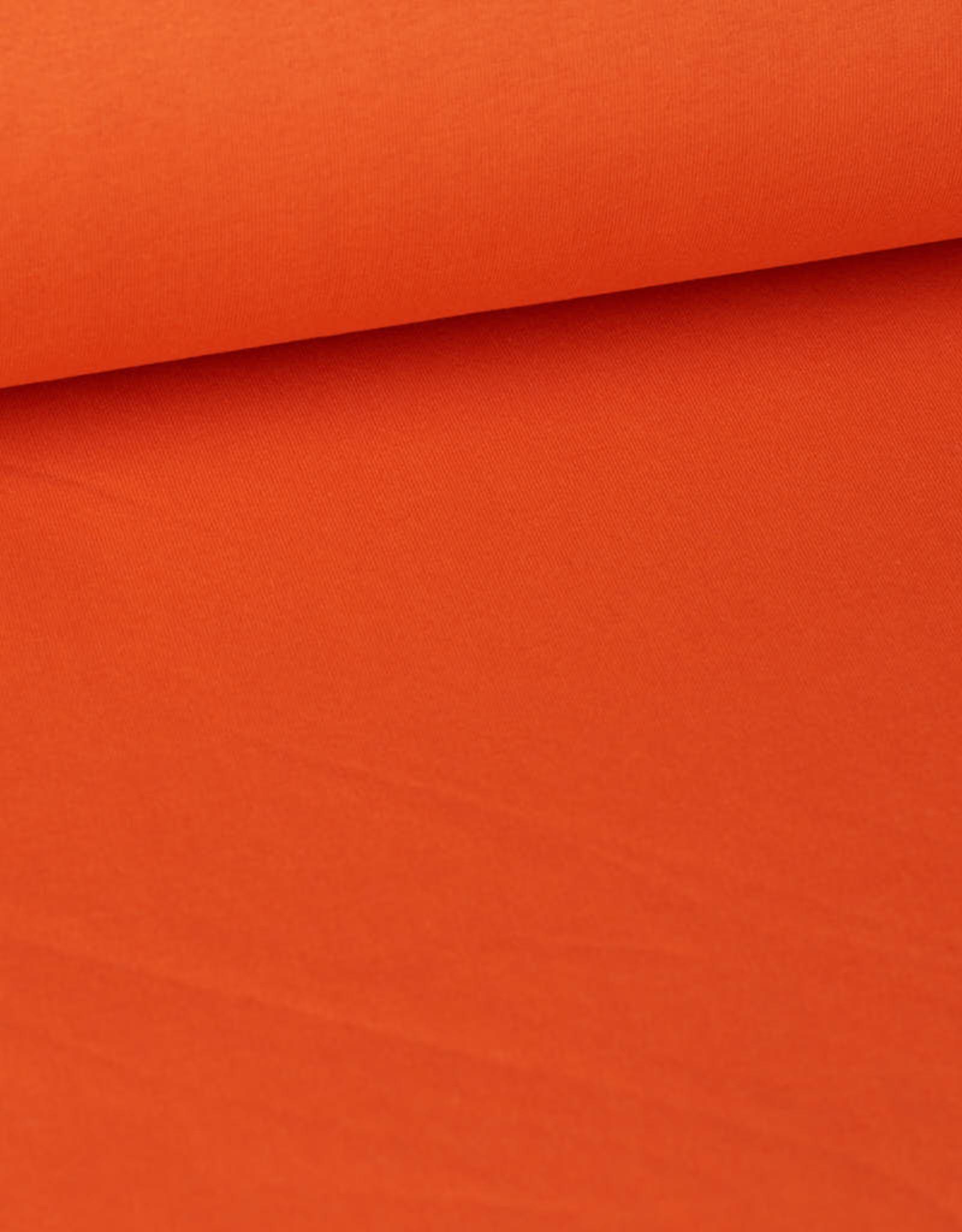 Editex Sweater oranje COUPON 30 cm