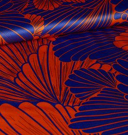 Editex Oranje/blauw schelp
