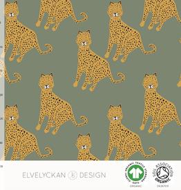 Elvelyckan Leopard green