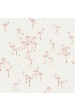 Family fabrics Flamingo