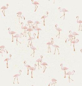 Family fabrics Flamingo  COUPON 1.10 m