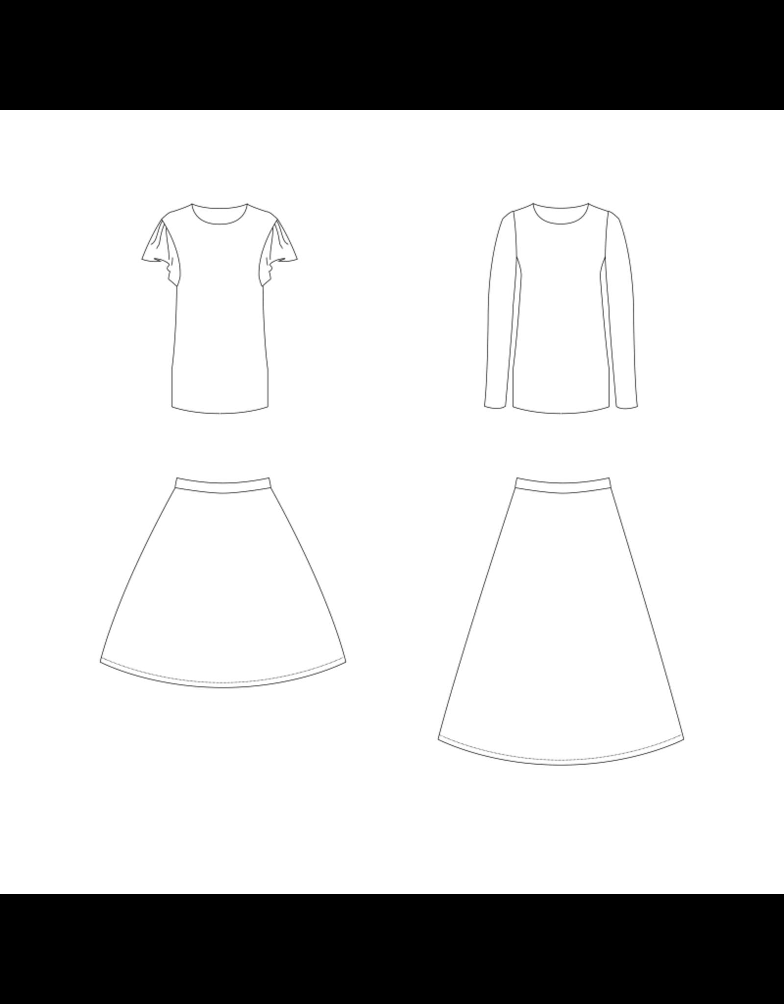 Bel' Etoile Cora rok en shirt