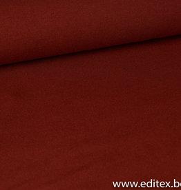 Editex Fijngebreide roest stof