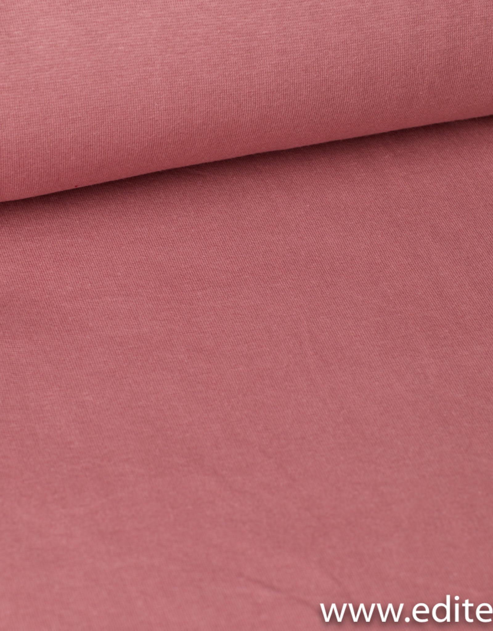 Editex Boordstof oud roze