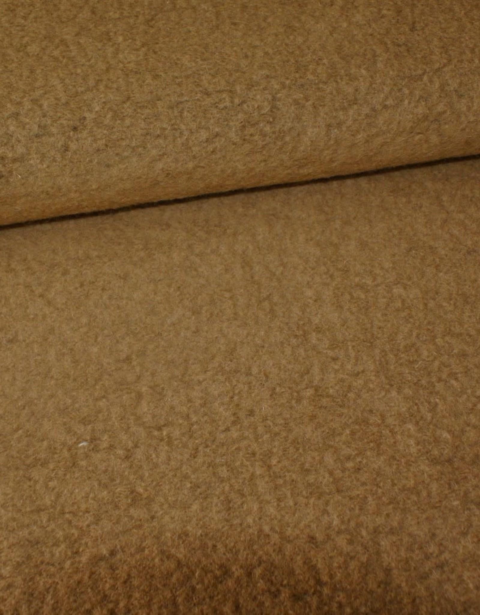 Stik-Stof Gekookte wol bruin/ beige