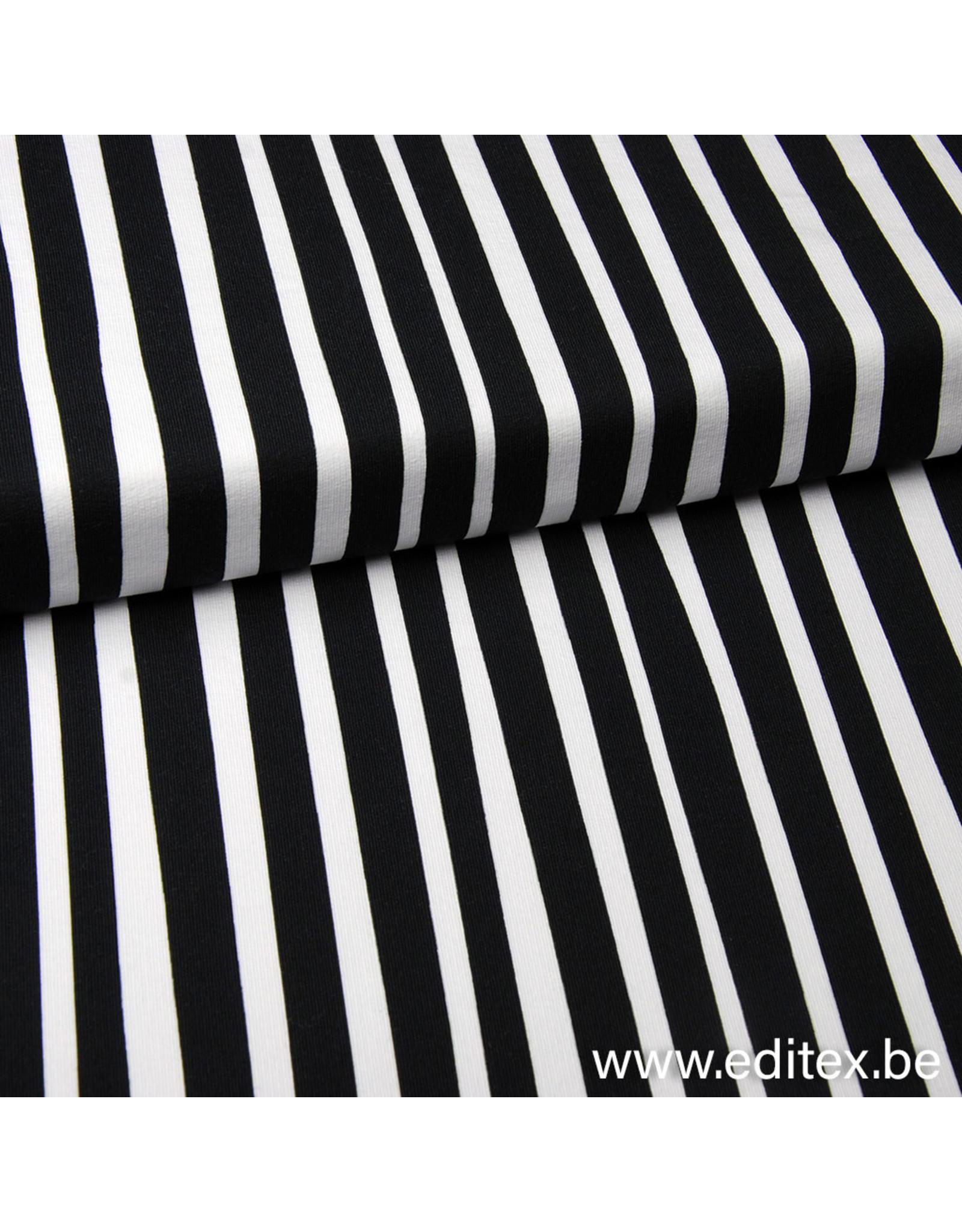 Eva Mouton zebra stripes COUPON 98 cm