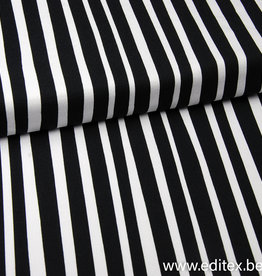 Eva Mouton zebra stripes COUPON 98 cm