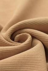 Stik-Stof Wafel knit camel