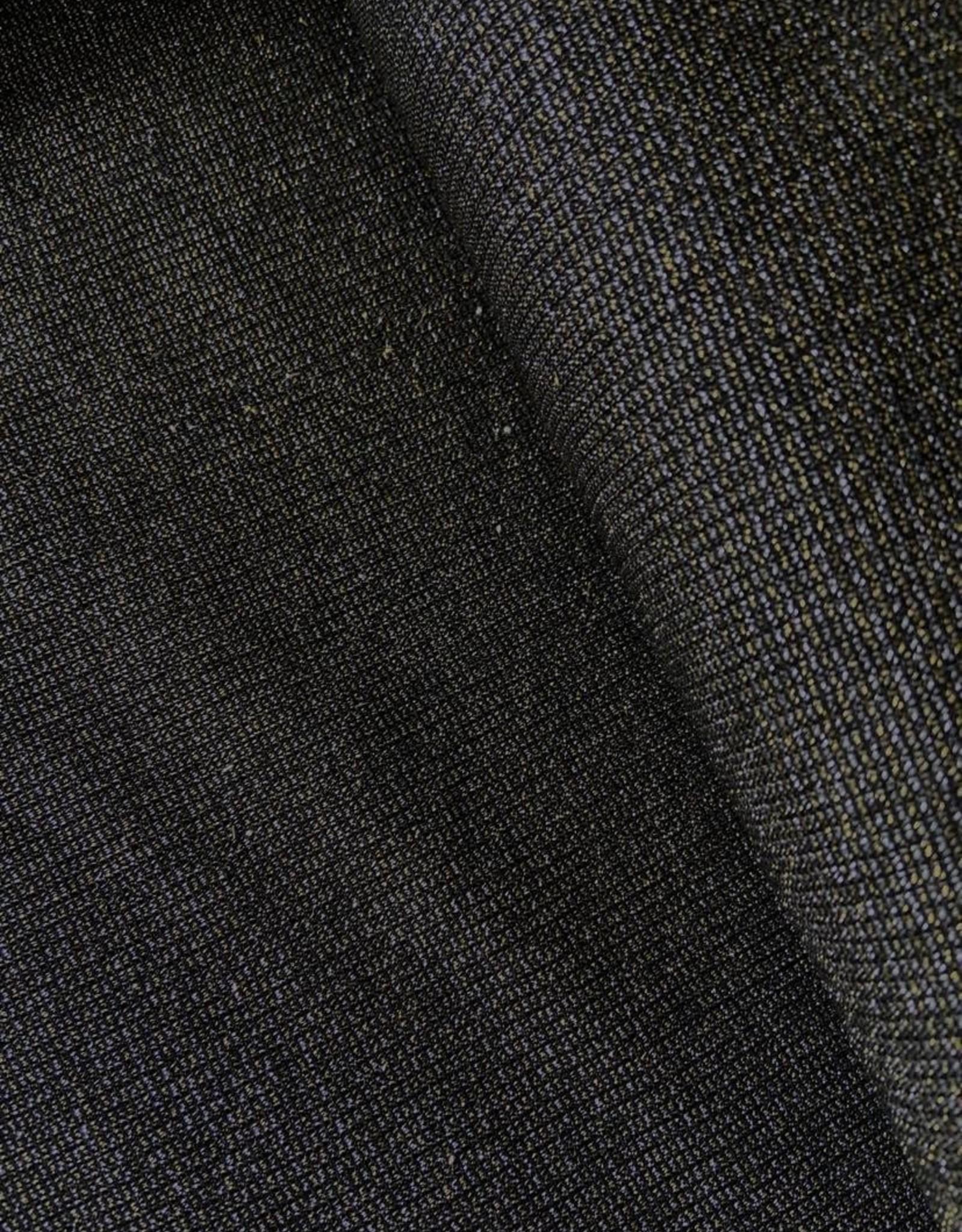 Polytex Knit zwart glitter