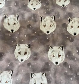 Family fabrics Fox grey