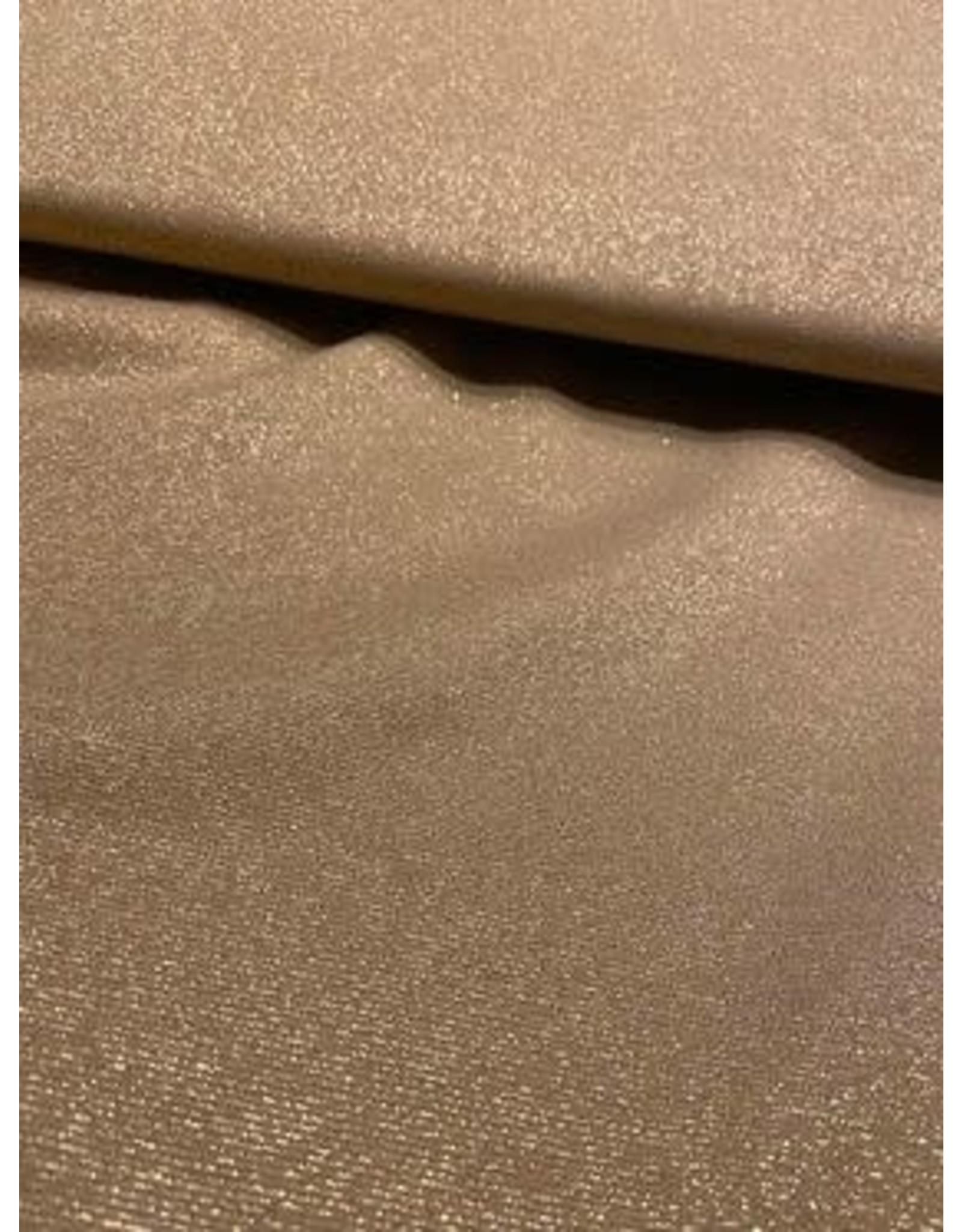 Polytex knit goud met glitter