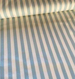 Elvelyckan Verticale streep mintblauw