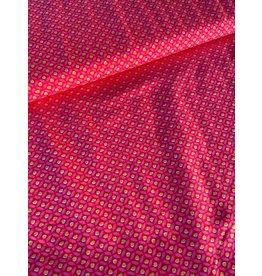 Stik-Stof Tiny dot roze