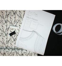 Stik-Stof DIY pyjama naaipakket paarden