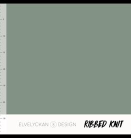 Elvelyckan Ribbed knit green