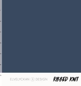 Elvelyckan Ribbed knit dark blue