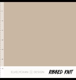 Elvelyckan Ribbed knit cappucino