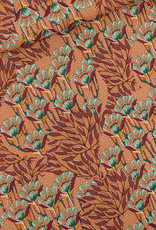 See You At Six Gilly flowers viscose rayon COUPON 1 meter