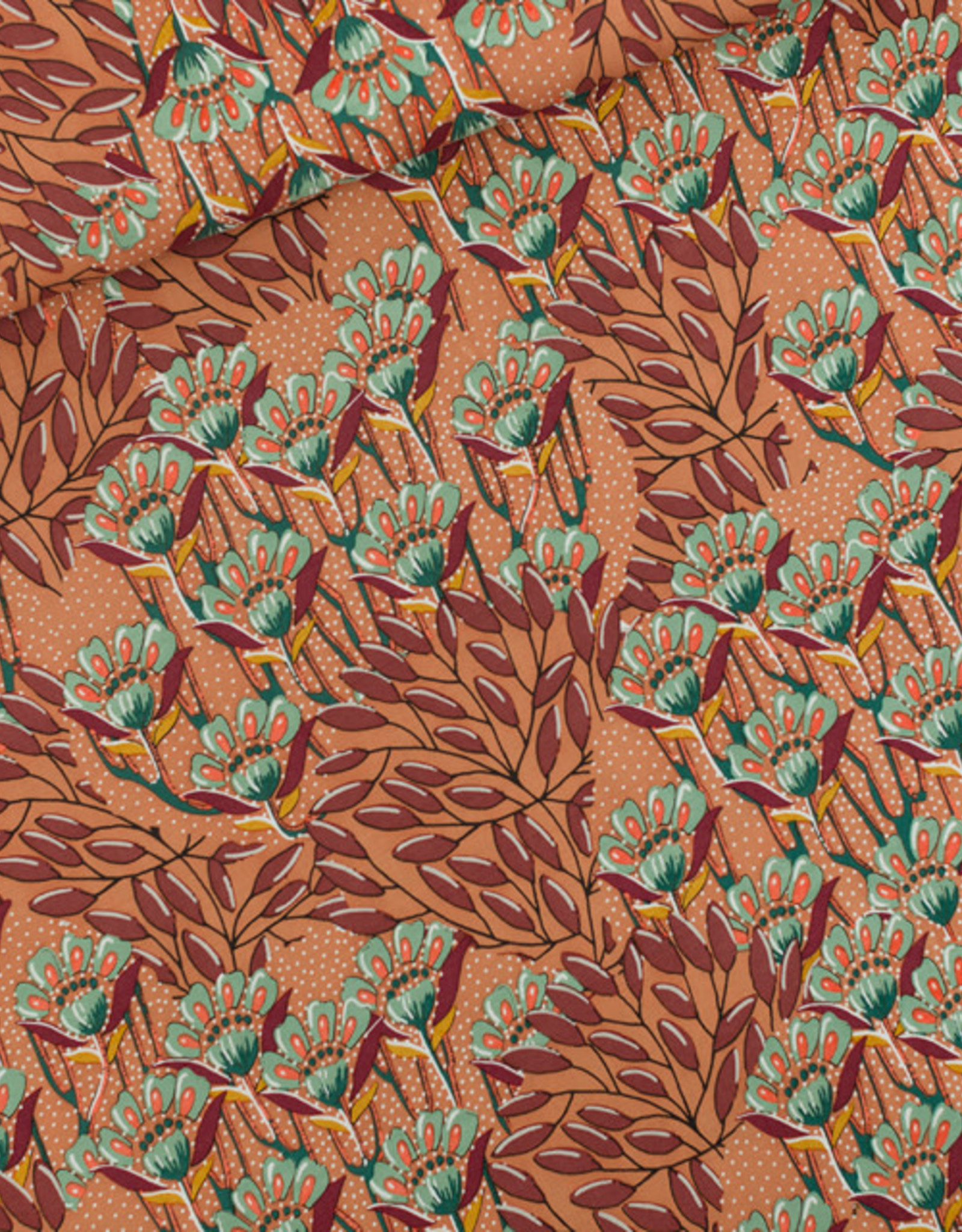 See You At Six Gilly flowers viscose rayon