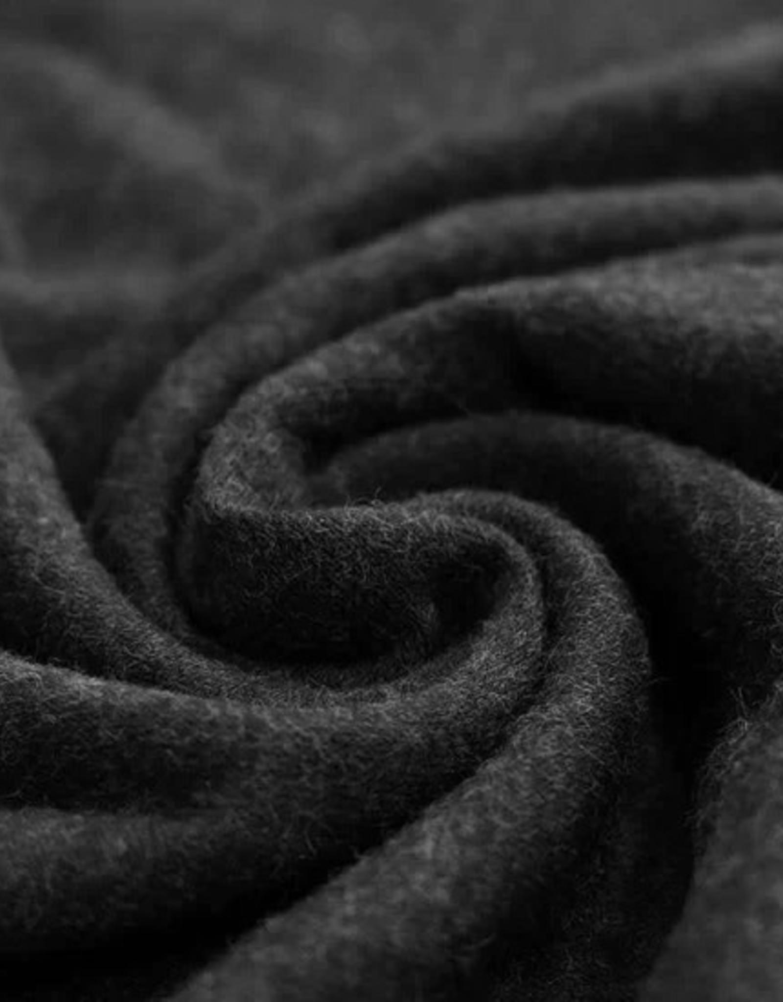 Stik-Stof Angora jersey zwart