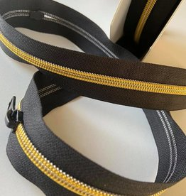 Restyle Spiraalrits op rol Metallic goud