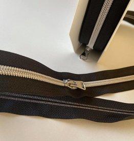 Restyle Spiraalrits op rol metallic zilver