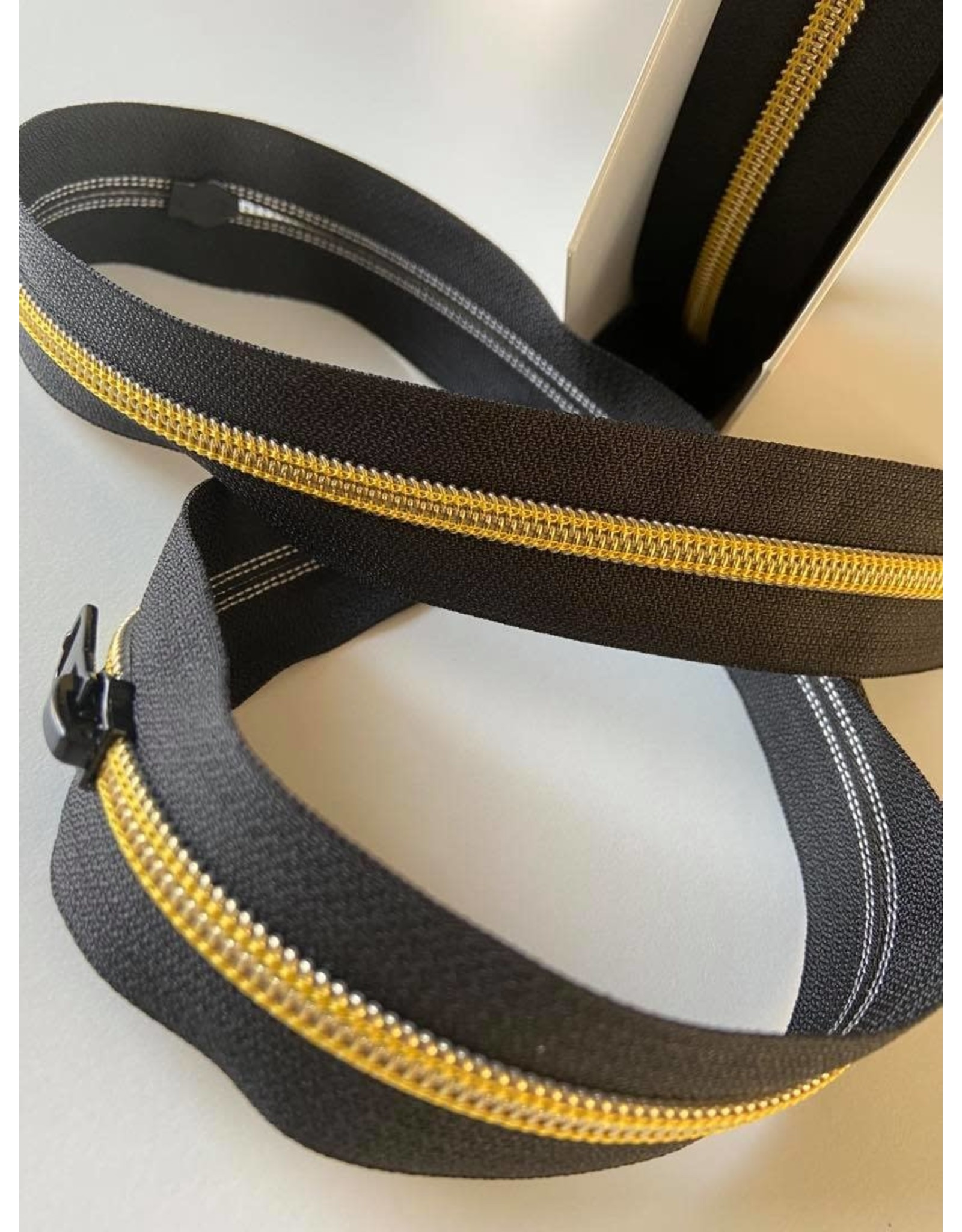 Restyle Spiraalrits op rol geel