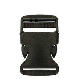Stik-Stof Turbo sluiting 40 mm zwart