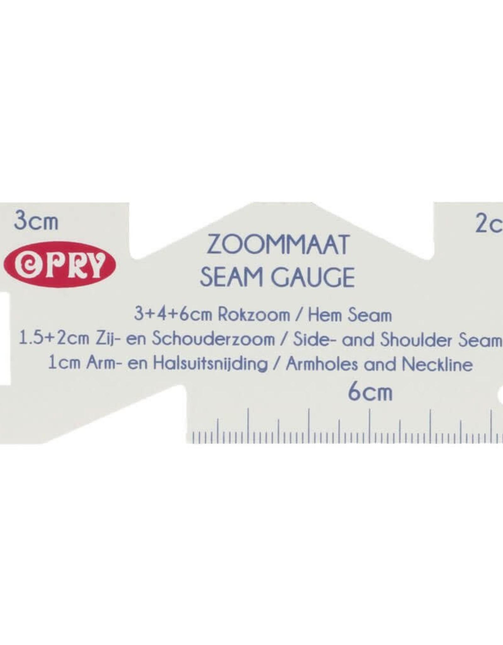 Opry Zoommaat plastic