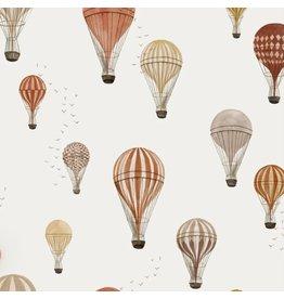 Family fabrics Hot air Balloons jersey