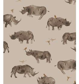 Family fabrics Rhino jersey