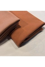 Family fabrics Pecan brown rib