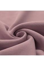 Stik-Stof Wafel knit oud roze