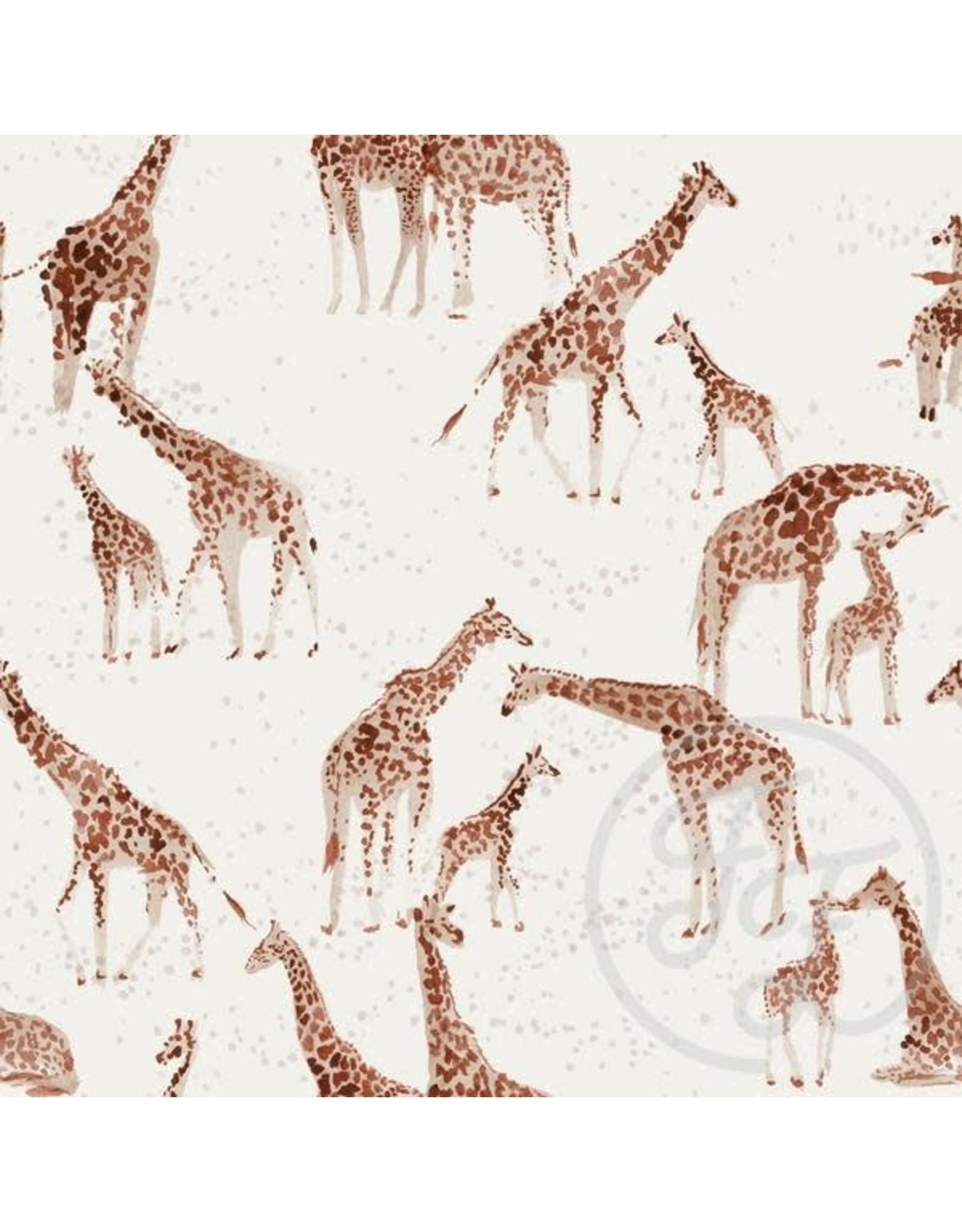 Family fabrics Giraffe jersey