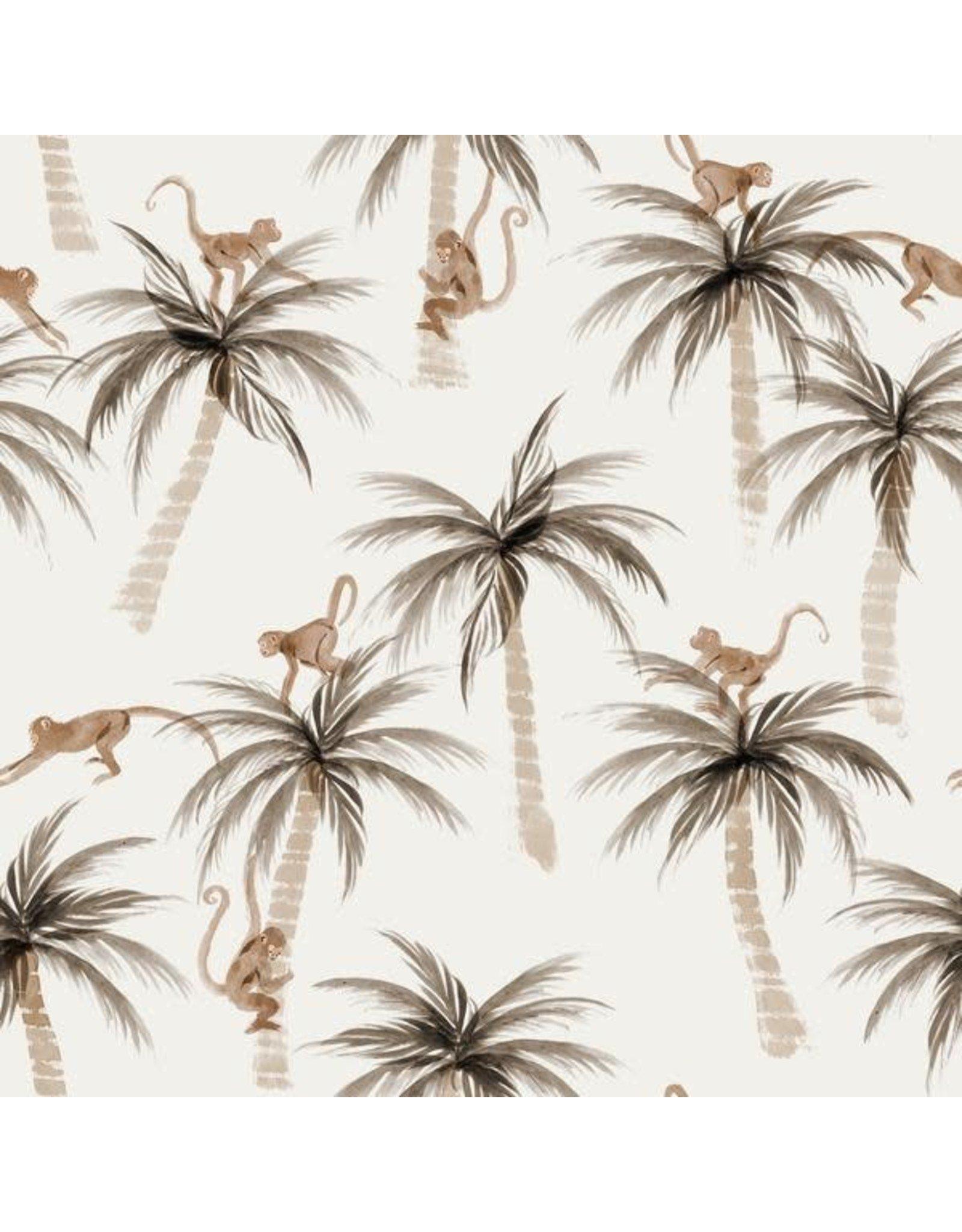 Family fabrics Pams & monkeys
