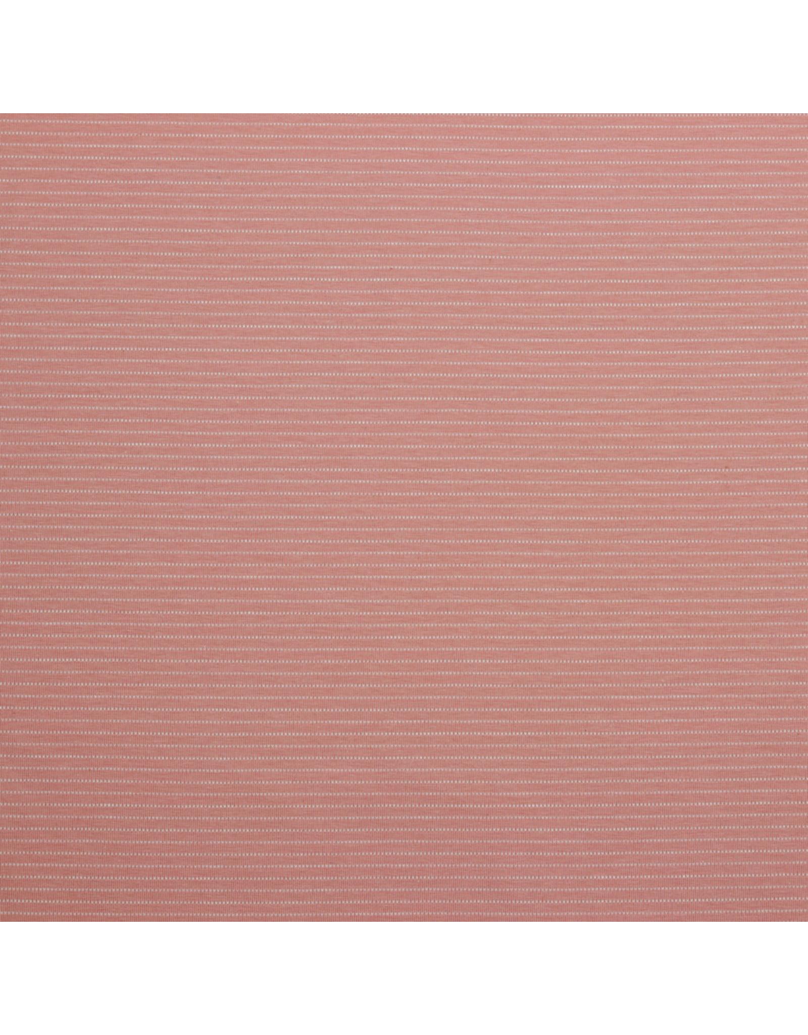 Stik-Stof Jersey stripes roze