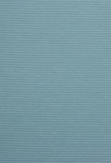 Stik-Stof Jersey stripes zeegroen