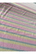 Editex Streep glitter viscose jersey