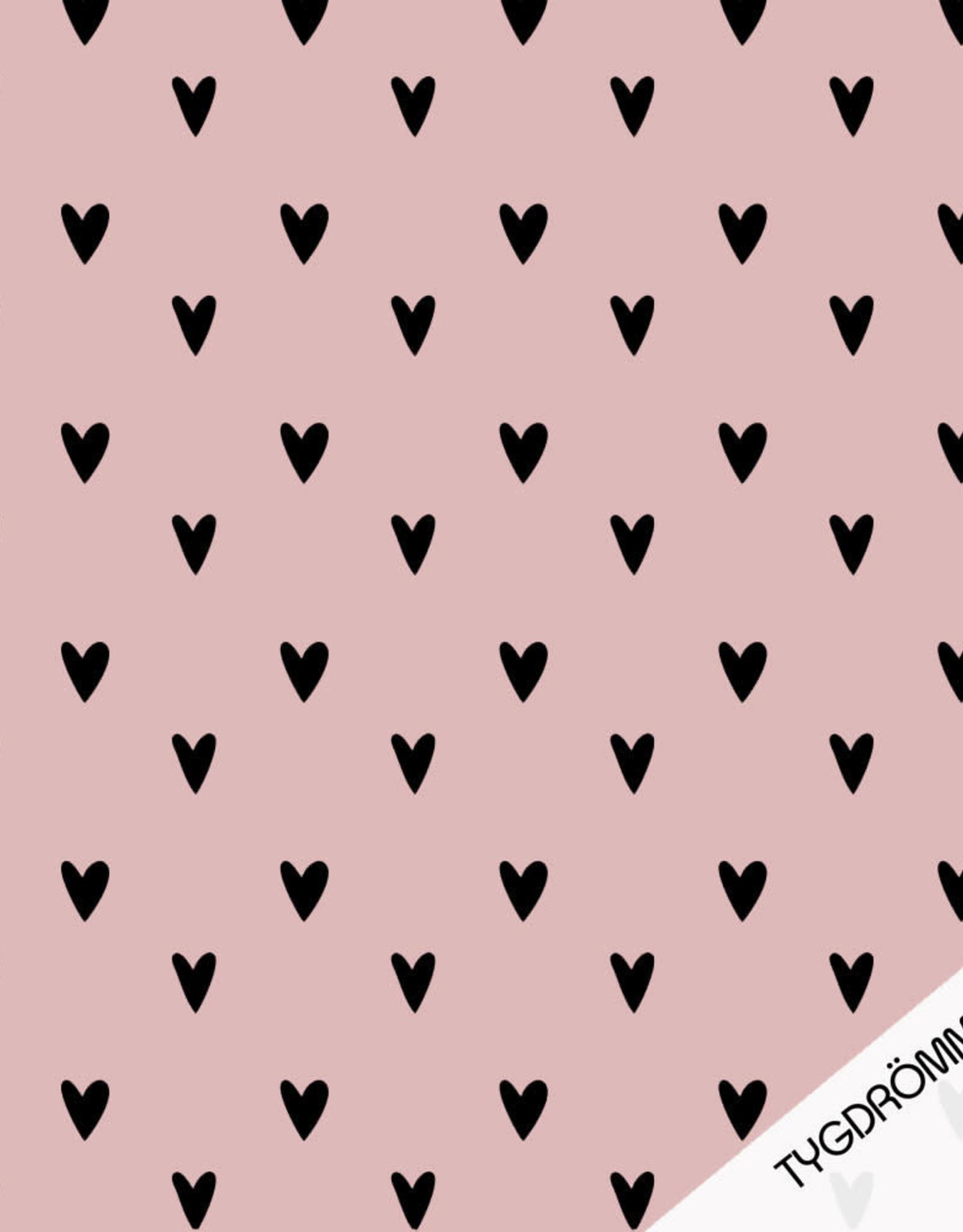 Tygdrömmar Hearts Rosy
