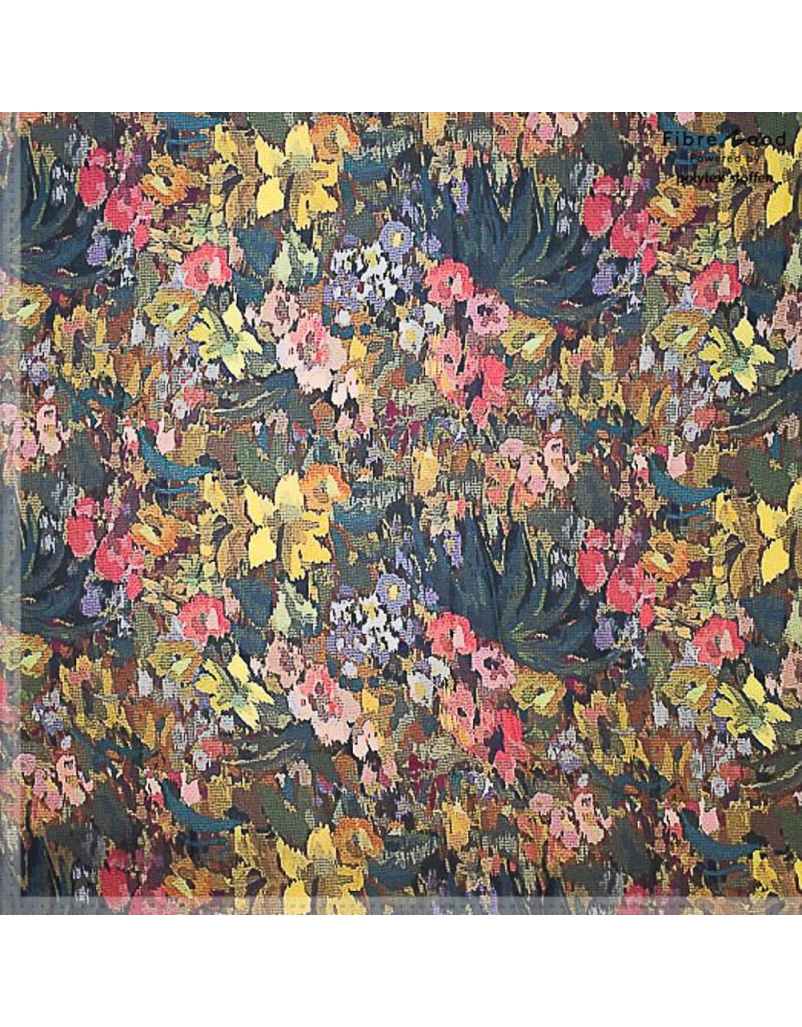 Polytex Crepe flowers digital