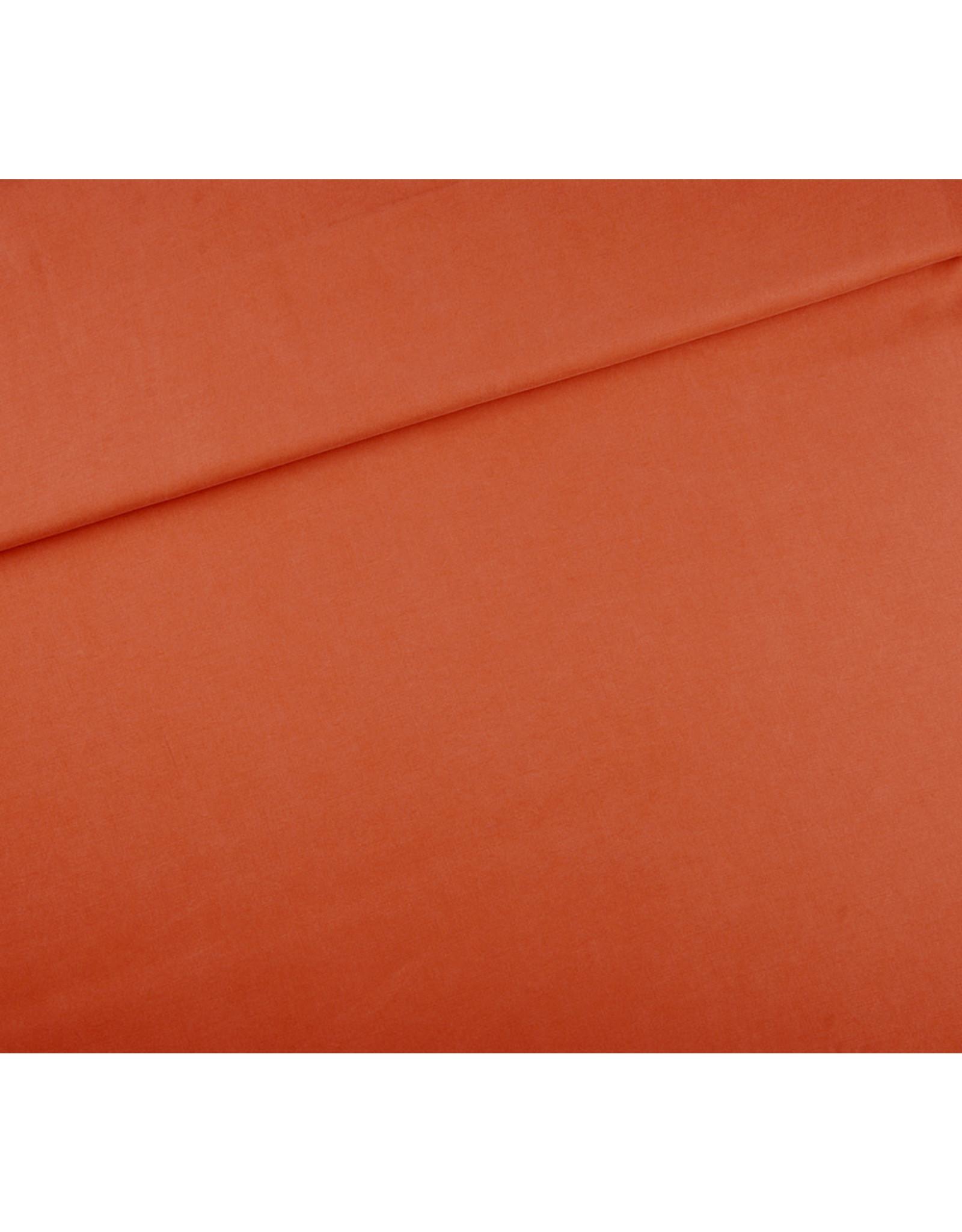 Editex Lycocell oranje/ roest