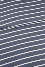 Editex Jeans - wit streep viscose