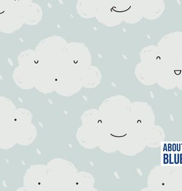 About Blue Fabrics All we have is now - happy when it rains