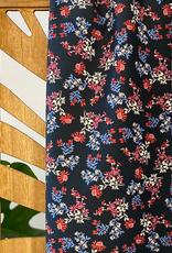 Atelier Jupe Gedroogde bloemenprint katoen stretch
