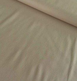 Stik-Stof Uni katoen beige
